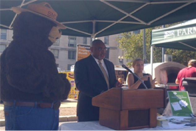 Mr. Malcom Shorter, Deputy Assistant Secretary for Administration (ASA), kicks off Preparedness Month at USDA!